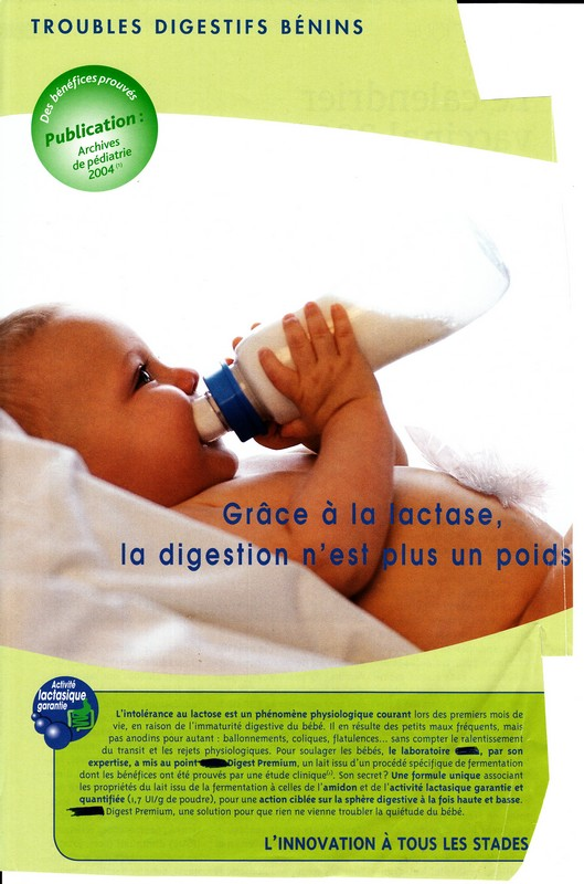 Lactase : Troubles digestifs bénins